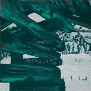 Tempera,Öl/Canvas 40 x 40 cm