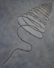 Kohle | Oel | Leinwand | 100 x 80 cm