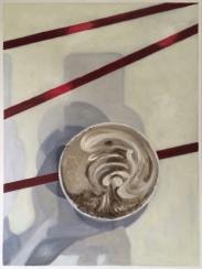 Tempera, Öl/Baumwolle 80 x 60 cm