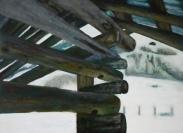 Tempera, Öl/MDF 50 x 60 cml