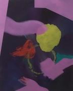 Zinnober II | Oel | Canvas | 100 x 80 cm
