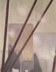 Tempera, Öl/Baumwolle 80 x 60