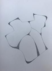 Muro 5 | Bleistift | Papier | 30 x 20 cm