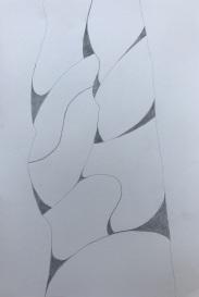 Muro 3 | Bleistift | Papier | 30 x 20 cm