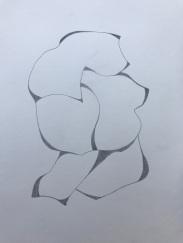 Muro 2 | Bleistift | Papier | 30 x 20 cm