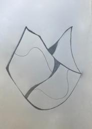 roca 1 | Bleistft | Papier | 21 x 13 cm