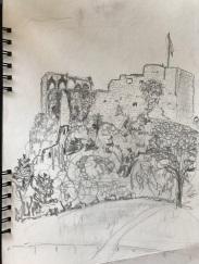 Bleistift | Skizzenblock | 30 x 20 cm