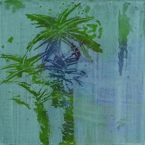 WYSIWII 4 | acrylic, oil on wood | 40 x 40 cm