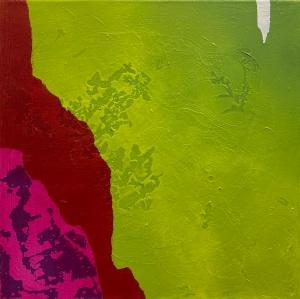 einer fehlt 3 | mixed media on canvas | 30 x 30 cm