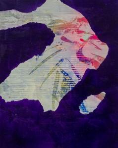 WYSIWII 6  | mixed media on canvas | 50 x 40 cm