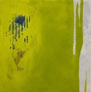 einer fehlt 4 | mixed media on canvas | 30 x 30 cm